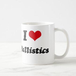 I Love BALLISTICS Coffee Mug