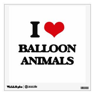 I love Balloon Animals Room Graphics