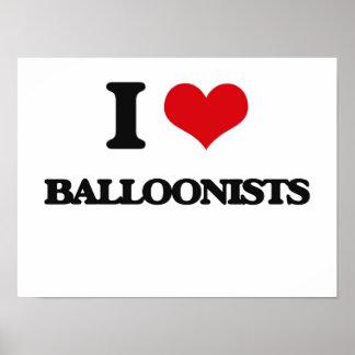 I love Balloonists Print