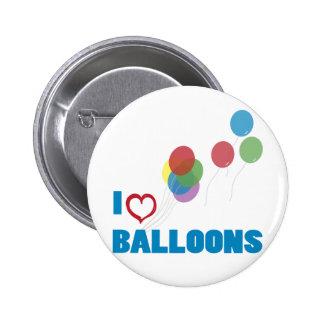 i love balloons pins