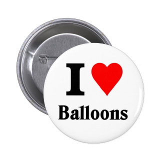 I love balloons pinback buttons