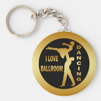 I LOVE BALLROOM DANCING KEYCHAIN