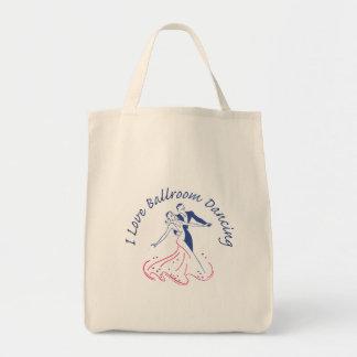 I Love Ballroom Dancing Tote Bag