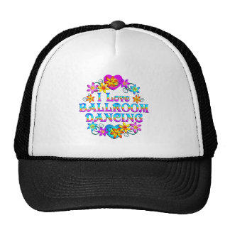 I Love Ballroom Dancing Trucker Hat
