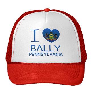 I Love Bally, PA Trucker Hat