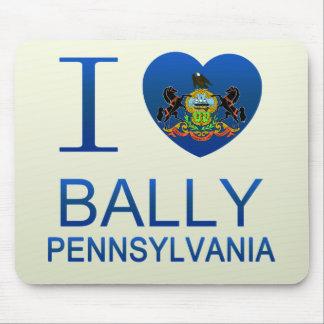 I Love Bally, PA Mouse Pad
