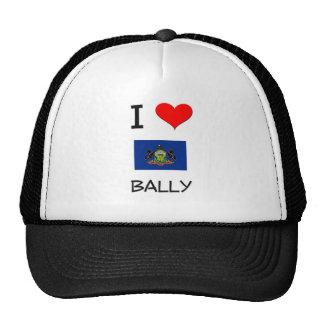 I Love Bally Pennsylvania Trucker Hat