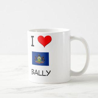 I Love Bally Pennsylvania Coffee Mugs