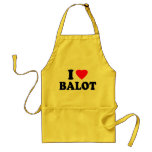 I Love Balot Apron