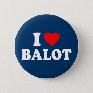 I Love Balot Pinback Button