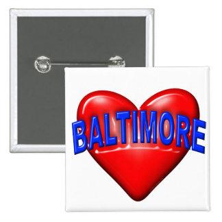 I love Baltimore Button