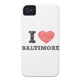 I-Love-Baltimore iPhone 4 Case