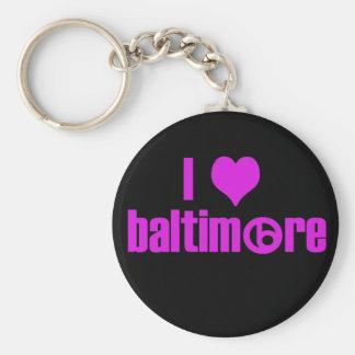 I love Baltimore Keychain