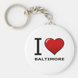 I LOVE BALTIMORE,MD - MARYLAND KEYCHAIN