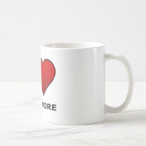 I LOVE BALTIMORE,MD - MARYLAND CLASSIC WHITE COFFEE MUG