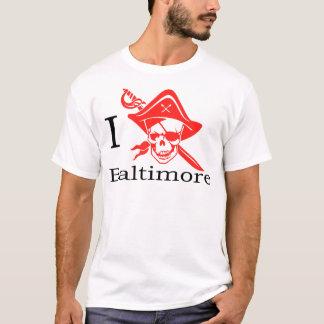 I Love Baltimore Pirate T-Shirt