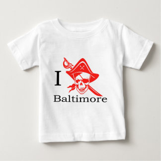 I Love Baltimore Pirate T Shirts