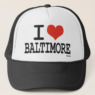 I love Baltimore Trucker Hat