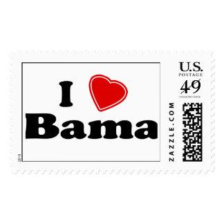 I Love Bama Postage