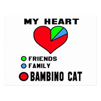 I love Bambino. Postcard