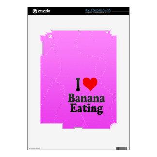 I love Banana Eating iPad 2 Decals