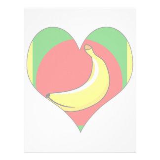 I Love Banana Republic Letterhead Template