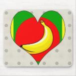 I Love Banana Republic Mouse Pad