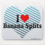 I Love Banana Splits Mouse Pad