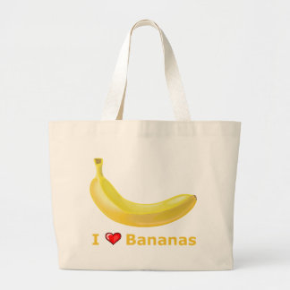 I Love Bananas Bags