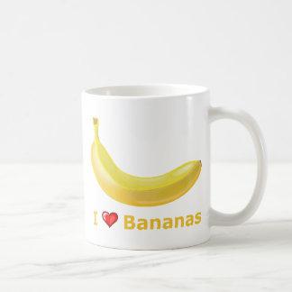 I Love Bananas Coffee Mug