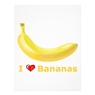 I Love Bananas Flyer