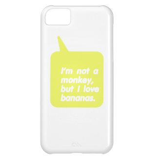 I love bananas iPhone 5C case