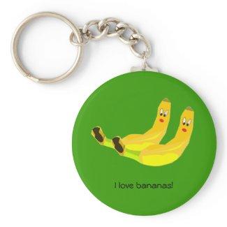 I love Bananas Keychain keychain