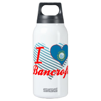 I Love Bancroft, South Dakota 10 Oz Insulated SIGG Thermos Water Bottle