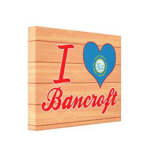 I Love Bancroft, South Dakota Canvas Print
