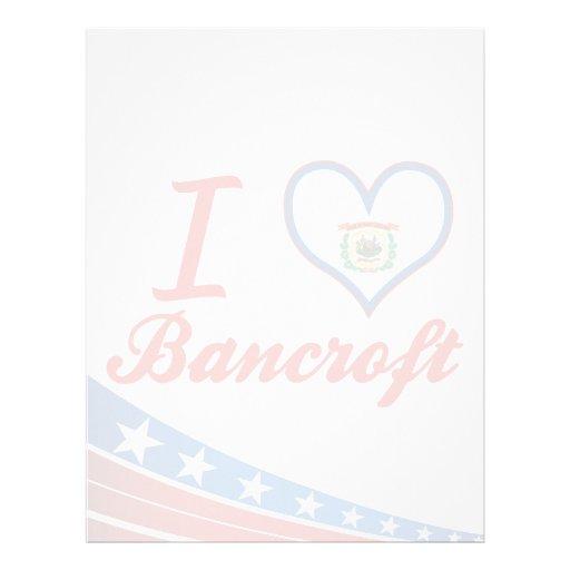 I Love Bancroft, West Virginia Letterhead