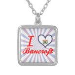 I Love Bancroft, West Virginia Necklace