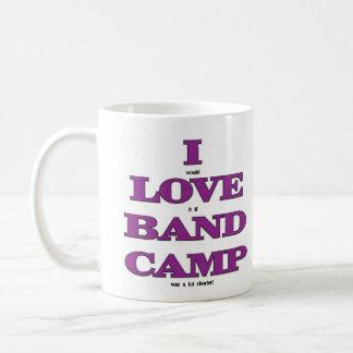 I Love Band Camp Coffee Mug