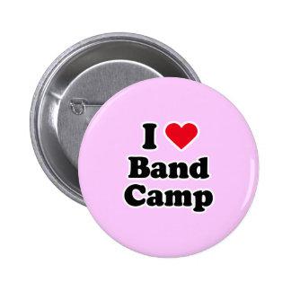 I love band camp pin