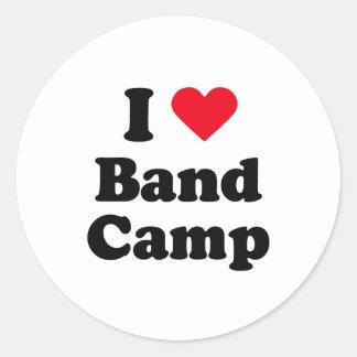 I love band camp sticker