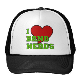 I Love Band Nerds 2 Trucker Hat