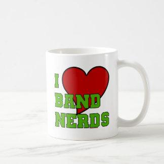 I Love Band Nerds 2 Coffee Mugs