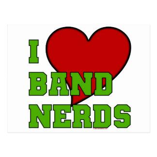 I Love Band Nerds 2 Postcard