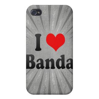 I Love Banda, India. Mera Pyar Banda, India iPhone 4 Cover
