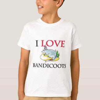 I Love Bandicoots T-Shirt