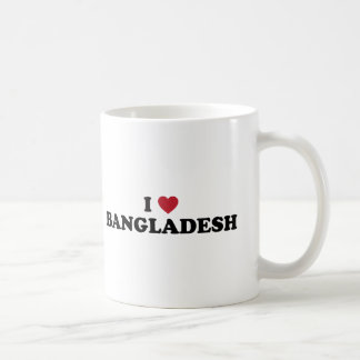 I Love Bangladesh Coffee Mug