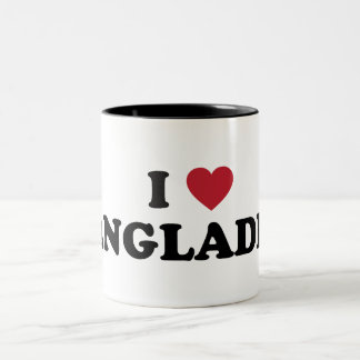 I Love Bangladesh Two-Tone Coffee Mug