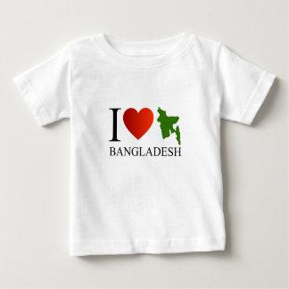 I love Bangladesh with map Baby T-Shirt