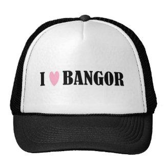 I LOVE BANGOR HAT