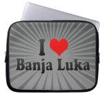 I Love Banja Luka, Bosnia and Herzegovina Laptop Sleeves